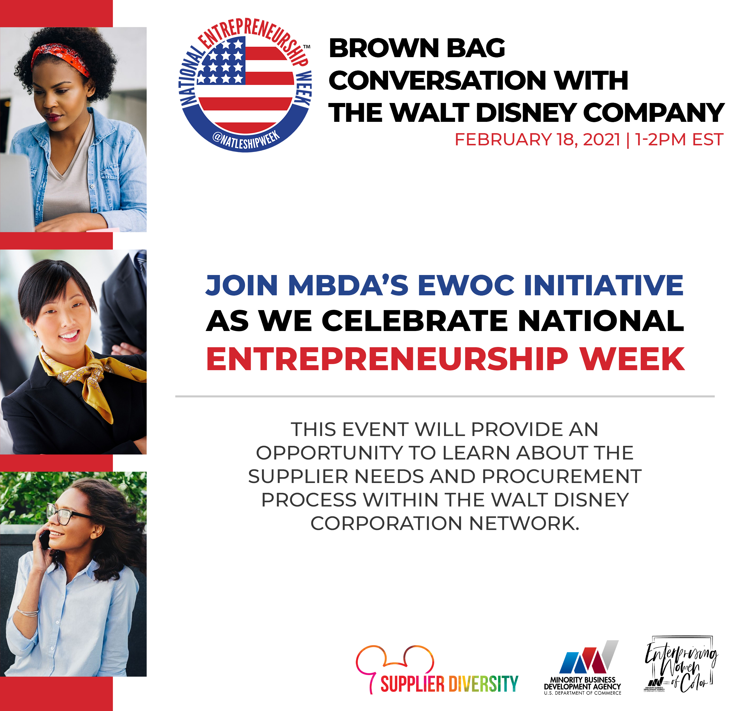 Brown Bag Conversation With The Walt Disney Company